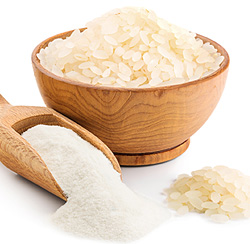 Rice grinding flour as a versatile solution
